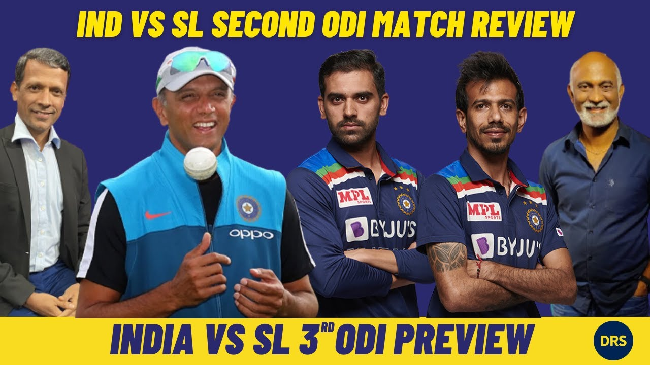 India vs Sri Lanka 2nd ODI Review and 3rd ODI Preview | The Dressing Room Show