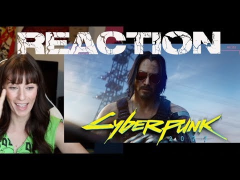 CYBERPUNK 2077 — E3 2019 CINEMATIC TRAILER | Keanu Reeves - REACTION!