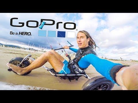 GoPro Hero 5: Kite-Buggying