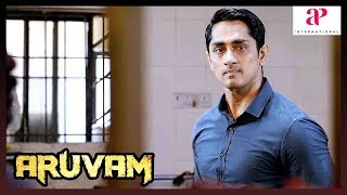 Aruvam Siddharth Movie Super Scene | Siddharth finds about adulteration in food products | Sathish