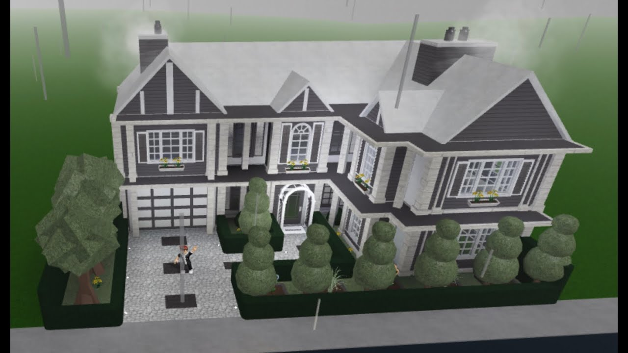 FAMILY STYLE HOME! - EXTERIOR ONLY! - Bloxburg Builds ...