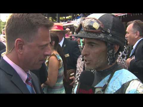 Post Race Interview - Coaching Club American Oaks with John Velazquez