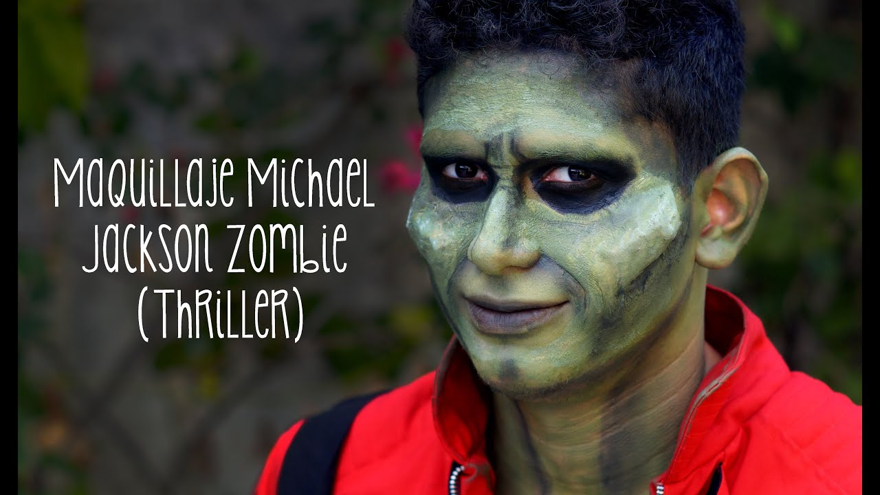 maquillage zombie thriller