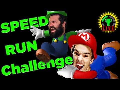 SPEED RUN Challenge | Super Mario Maker...