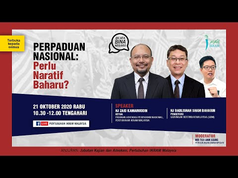 BBN2 | Perlukah naratif baharu dalam perpaduan negara? bersama NGO IKRAM dan Ann Siang