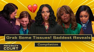 Grab Some Tissues! SADDEST Reveals On Paternity Court (Compilation)   Paternity Court