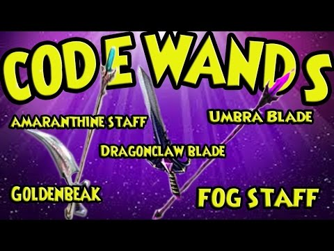 Wizard101 Code Wands: Best Guide To Fishing For Code Wands: Fog Staff,  Amaranthine Staff.