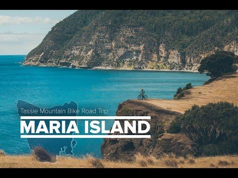 The Tassie MTB Road Trip: Maria Island