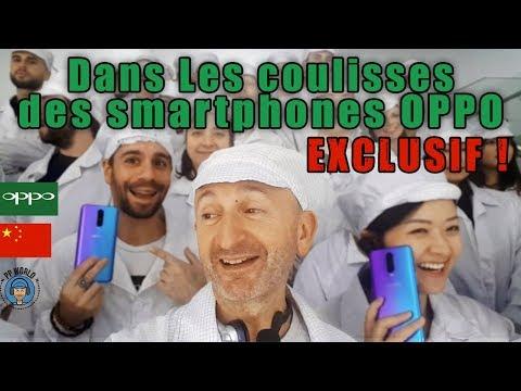Dans les COULISSES des Smartphones OPPO en Chine ! (EXCLUSIF !)
