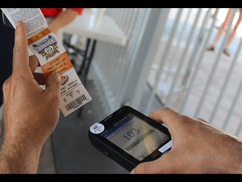 Barcode Scanner to Track Tickets and Attendance