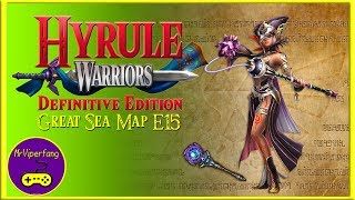 Hyrule Warriors (Switch): Great Sea Map E15 - Cia