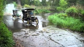 Stanley Steam Car Warwickshire Tour 2012