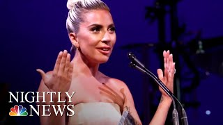 Lady Gaga Opens Up About Mental Health | NBC Nightly News