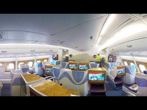 Emirates Airbus A380  | 360 video | Emirates Airline