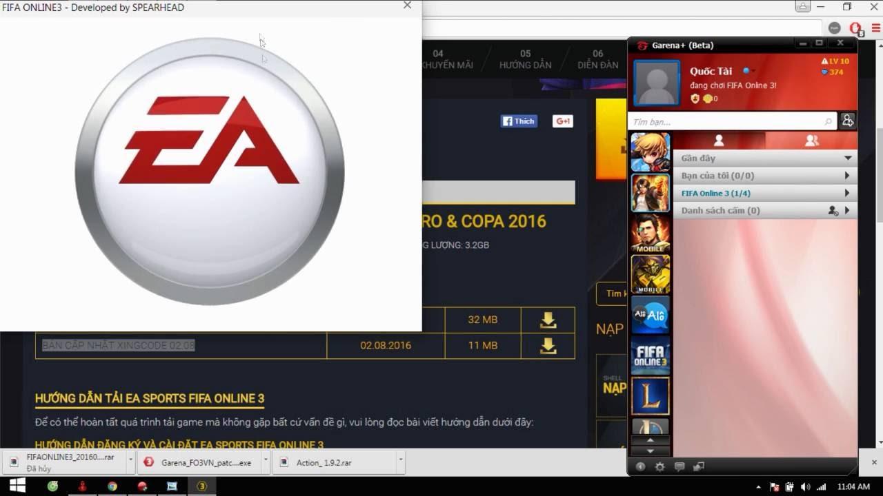 Cách sửa lỗi XignCode không chạy FIFA ONLINE 3 - YouTube