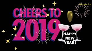 Happy New Year 2019 New Year Wishes Greetings SMS Ecard quotes Whatsapp status