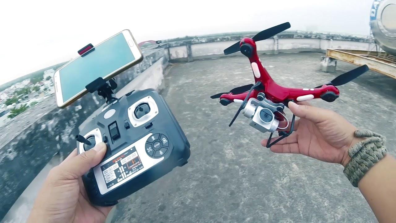 Ham rẻ nên mua Flycam HR-SH5 và cái kết Đắng… Đừng như tôi.