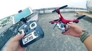 Ham rẻ nên mua Flycam HR-SH5 và cái kết Đắng... Đừng như tôi.
