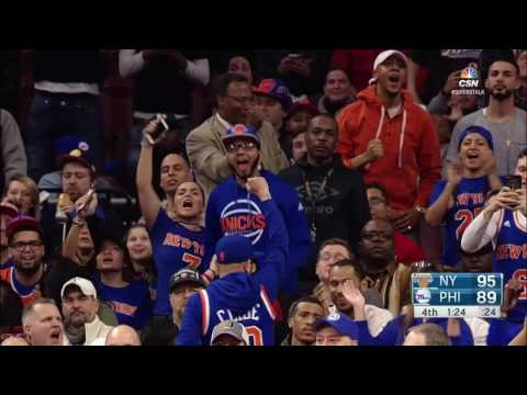 New York Knicks at Philadelphia 76ers - January 11, 2017