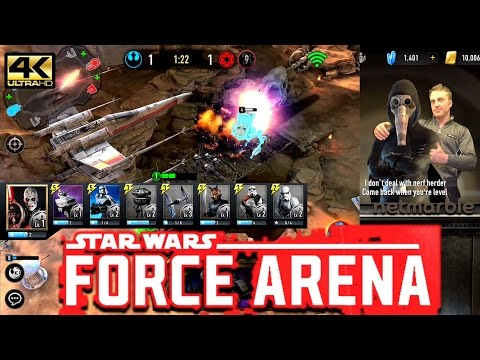 Star Wars™: Force Arena *I'M A NERF HERDER!*EPIC new capture the tower game!