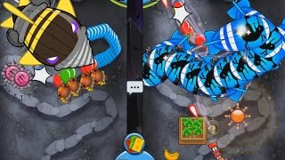 BTD Card Battles at the Dreadbloon Cave