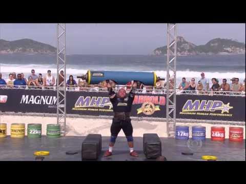 Brian Shaw Força Bruta - Grande Vencedor