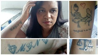 Minhas Tatuagens | Homenagem ao meu anjo que partiu!