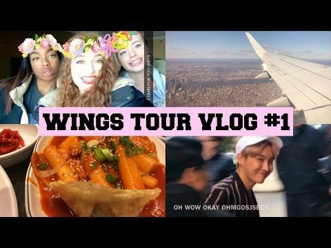 SEEING BTS AT BILLBOARD!! ||BTS WINGS TOUR VLOG PT.1||