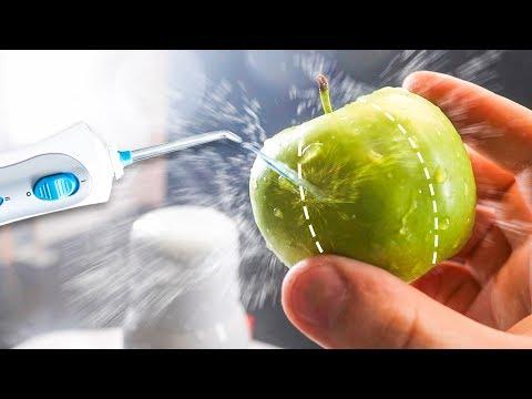 Как разрезать яблоко