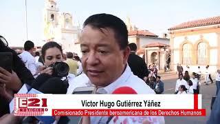 Entrevista Víctor Hugo Gutiérrez Yáñez Comisionado Presidente de la CIDHPDA