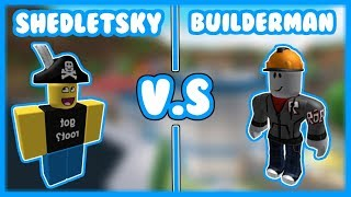 Shedletsky V.S Builderman | Jailbreak Edition - Roblox