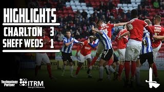 HIGHLIGHTS | Charlton 3 Sheffield Wednesday 1