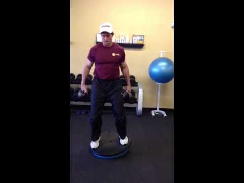 Golf training exercises