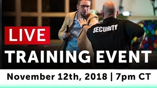 How To Prepare For, Prevent, & Stop A Mass Shooter Threat [USCCA Live Training Broadcast]
