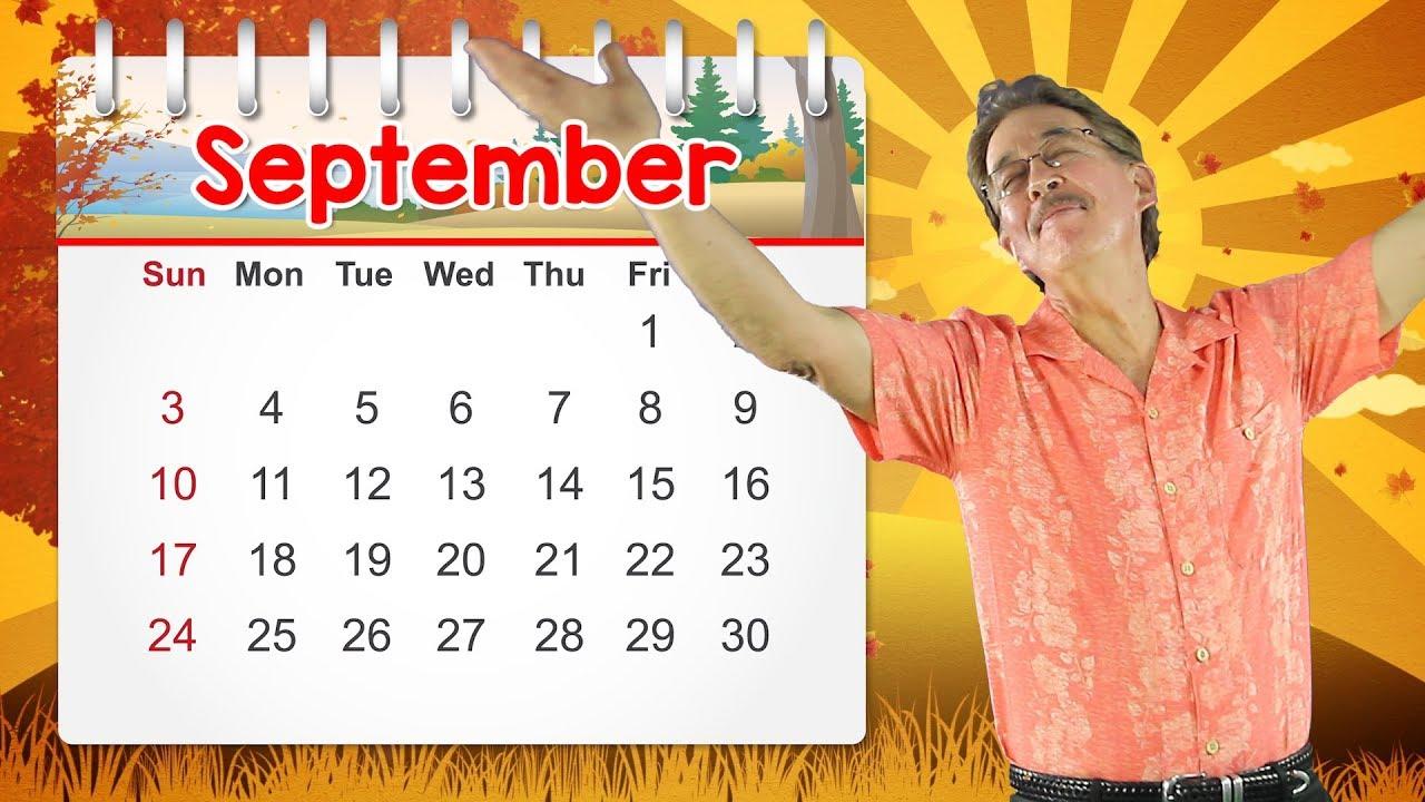 Download September | Calendar Song for Kids | Jack Hartmann