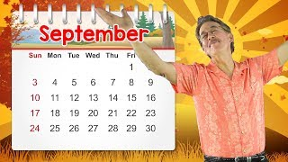September | Calendar Song for Kids | Jack Hartmann