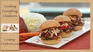 Asian Inspired Pork Tenderloin Sliders
