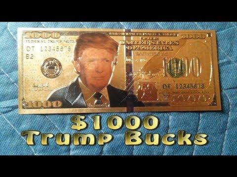 $1000 Trump Bucks