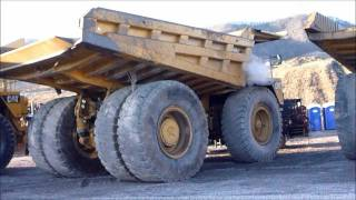 Cat 789B Haul Truck Cold Start