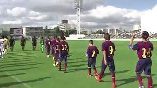 【WOWOW】 U-12ジュニアサッカーワールドチャレンジ2014    FCバルセロナ 準決勝・決勝ダイジェスト