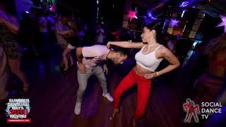 Carlos & Wandaisha - Bachata social dancing | Summer Sensual Days 2018