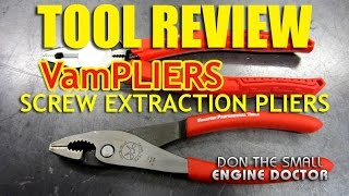 TOOL REVIEW - Vampliers Screw Extraction Pliers