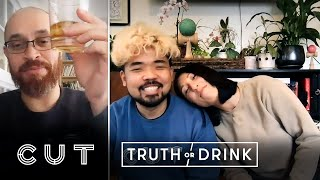 Quarantined Couples Play Truth or Drink | Truth or Drink | Cut