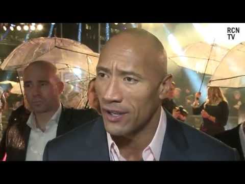 Dwayne Johnson The Rock Interview - G.I. Joe: Retaliation UK Premiere