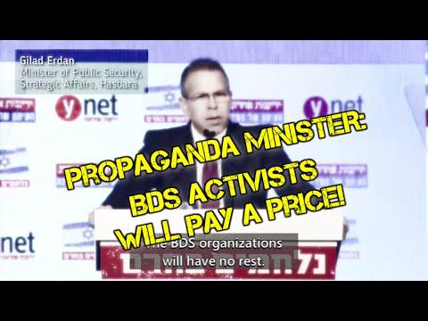 Image result for Gilad Erdan BDS gif