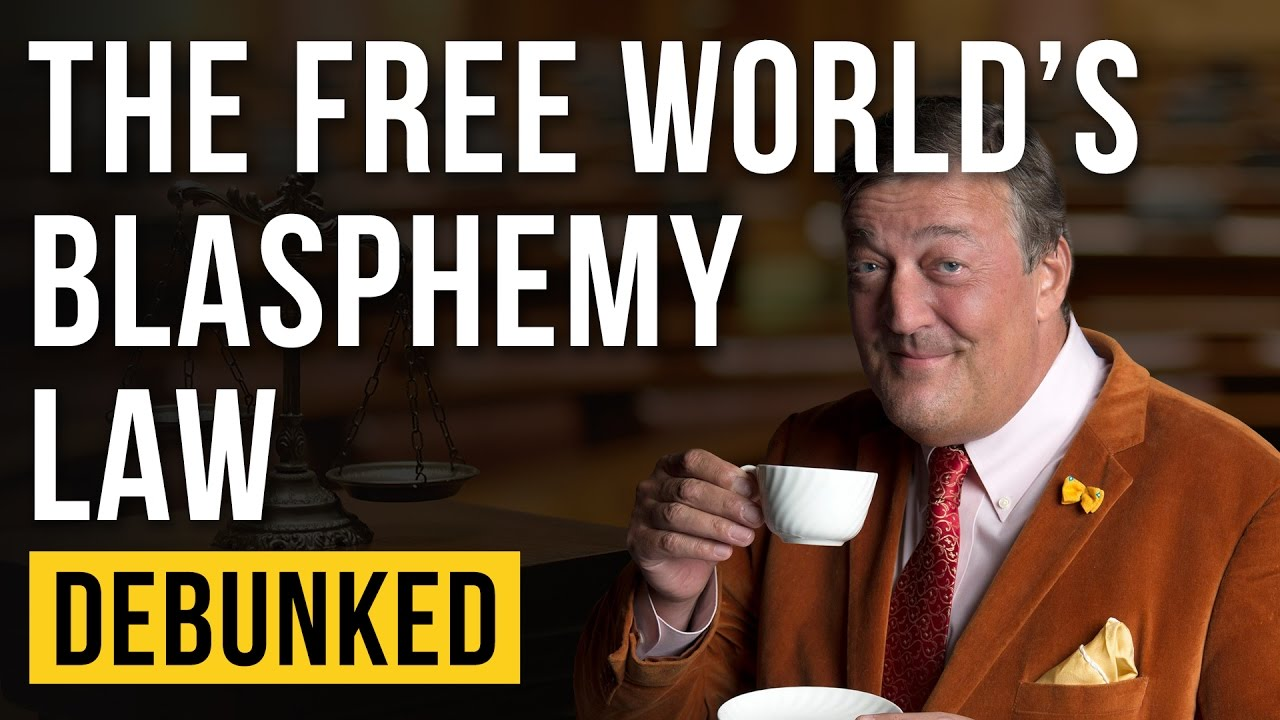 The Free World's Blasphemy Law - Debunked (Stephen Fry Blasphemy)