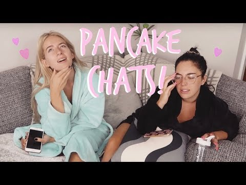 BREAKFAST MUKBANG | ANSWERING YOUR Q'S AND DILEMMAS! | Sophia and Cinzia