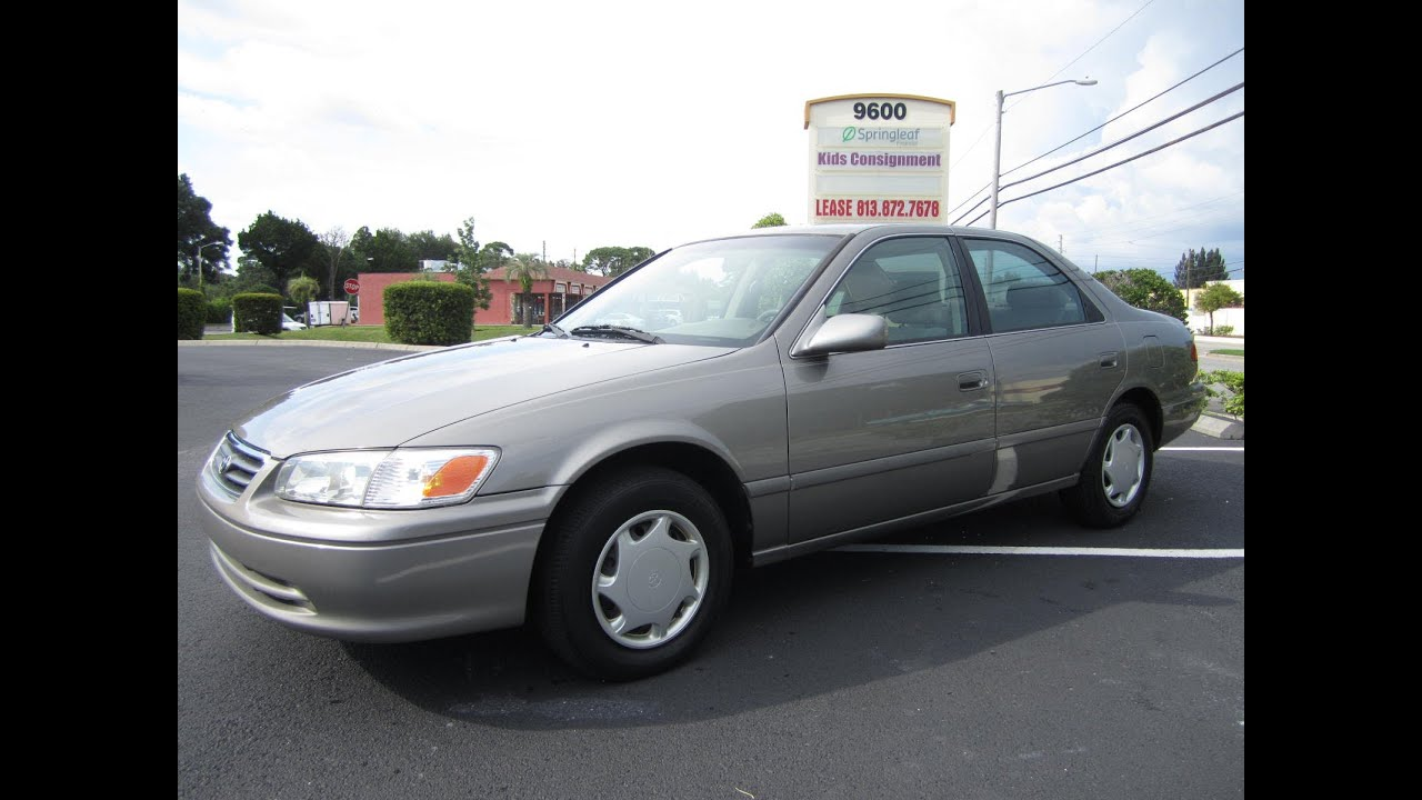 sold 2000 toyota camry ce 99k miles meticulous motors inc florida for sale youtube. Black Bedroom Furniture Sets. Home Design Ideas