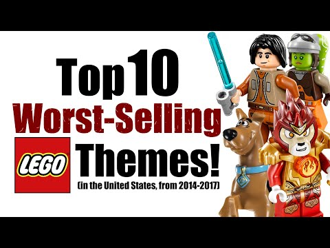 Top 10 Worst-Selling LEGO Themes!