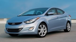 2013 Hyundai Elantra Limited Start Up and Review 1.8 L 4 Cylinder